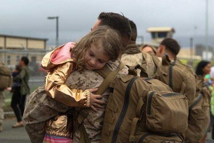 Hawaii Marines return from ITX 2-18