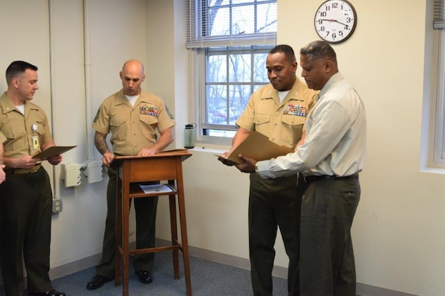 Marine colonel receives Black Engineer of the Year Award