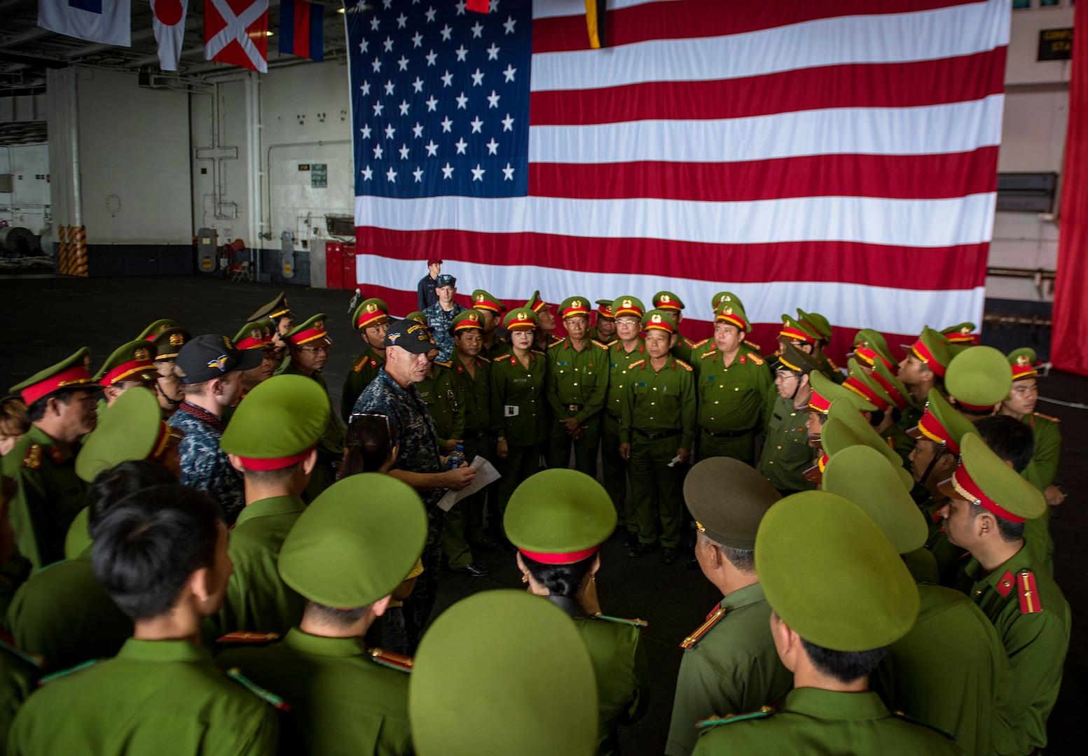Carl Vinson Strike Group Departs Vietnam