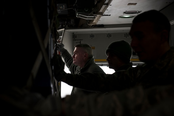 21st Space Wing members recently returned from an undisclosed location in January 2018, supporting United States Central Command. They deployed in direct support of Operation INHERENT RESOLVE and were responsible for monitoring the space enviroment for interference which could impact friendly operations.