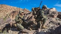 U.S. Marines with 3rd Battalion, 8th Marine Regiment, 2nd Marine Division, conduct pre-deployment training aboard Twentynine Palms, Ca.