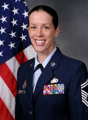 Senior Master Sgt. Erin Panas, official photo, U.S. Air Force