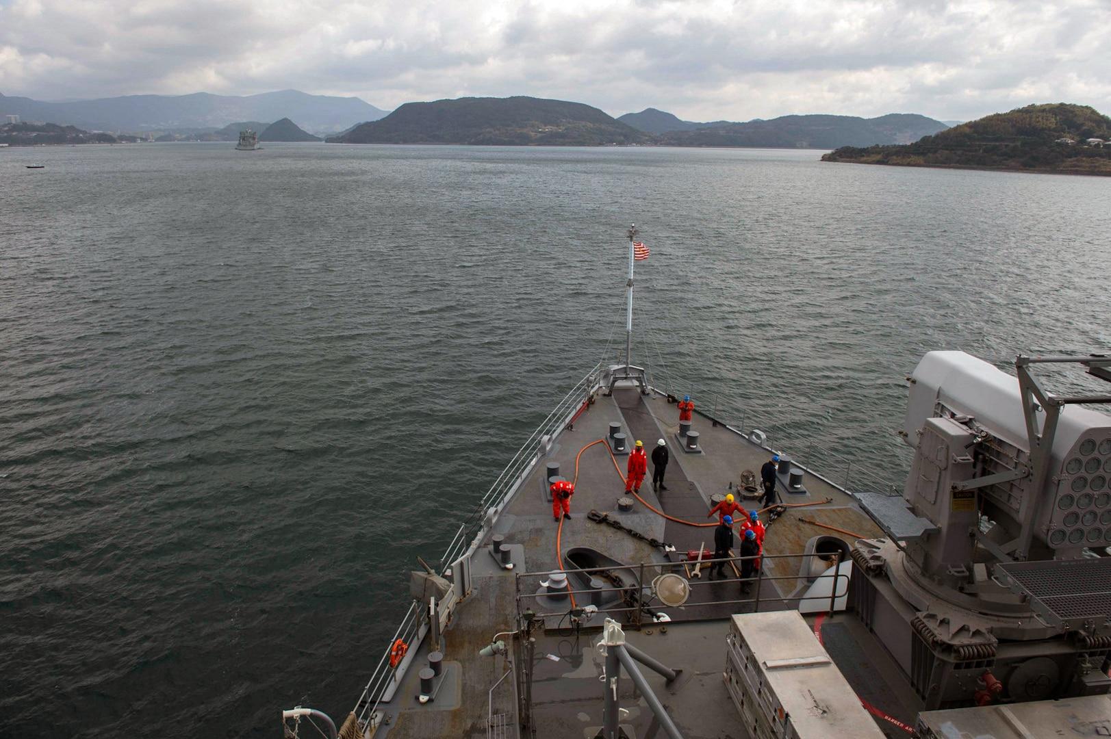 USS Ashland Departs Sasebo for Final Readiness Drills, Regional Patrol