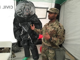 Army Reserve Soldiers, Air Force personnel build a partnership