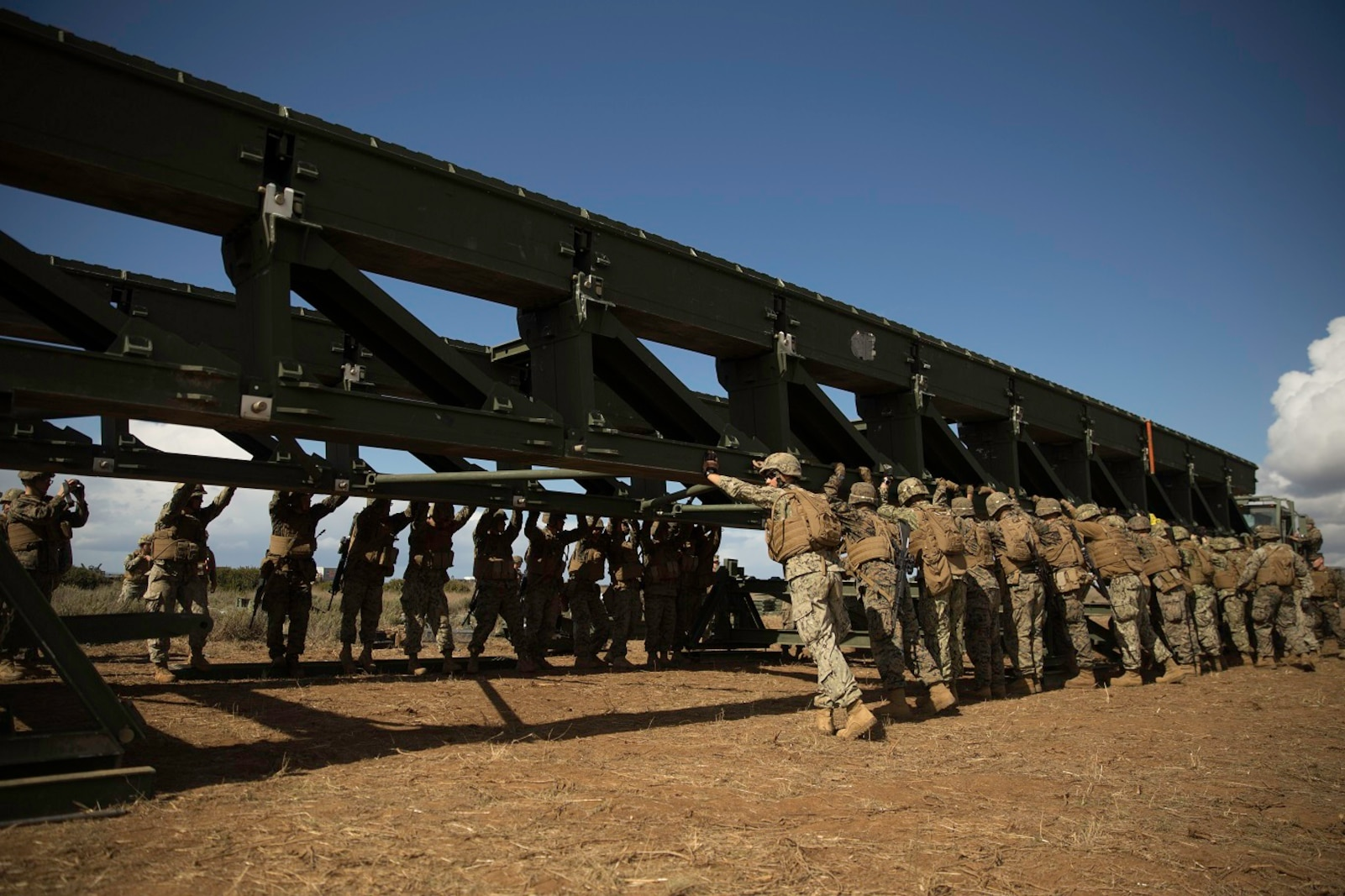 Bridge Company Field Training Exercise