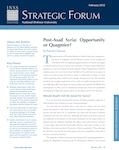 Post-Asad Syria: Opportunity or Quagmire?