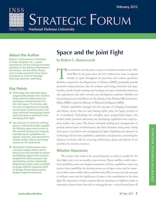 Space and the Joint Fight