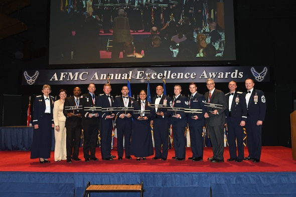 AFMC Excellence Award winners
