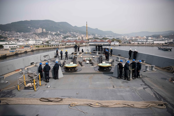 Green Bay Departs Sasebo for Patrol Following 5-month SRA