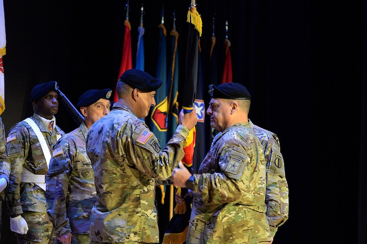 U.S. Army Training and Doctrine change of command