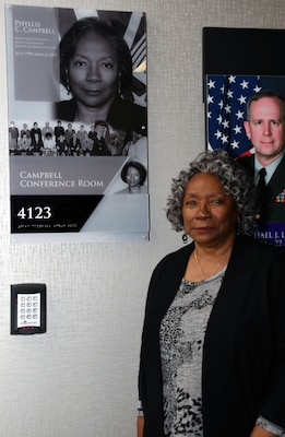 Distribution Headquarters honors past deputy with newly named Campbell Conference Room
