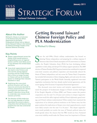 Getting Beyond Taiwan? Chinese Foreign Policy and PLA Modernization