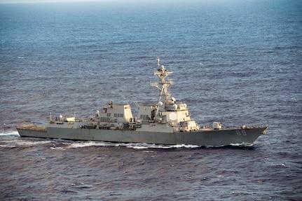 USS Mustin Sharpens Skills During MultiSail 18