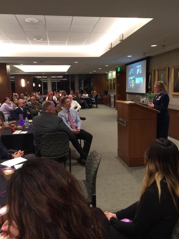 UTANG Commander speaks at Department of Veterans Affairs event