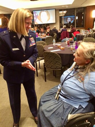 UTANG Commander speaks at Department of Veterans Affairs event