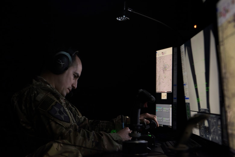 Airmen assigned to the 2nd Air Support Operations Squadron supported NATO allies with a state of the art, joint terminal attack controller, virtual training simulator March 6, 2018, at U.S. Army Garrison Bavaria in Vilseck, Germany.
