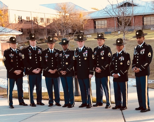 Army Medical Department Center and School graduates of the first Drill Sergeant Conversion Course at Fort Jackson, SC.