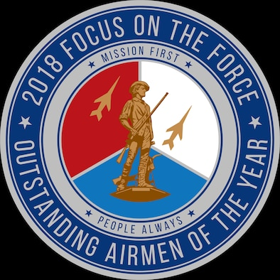 Official seal for the Air National Guard's 2018 Focus on the Force Week, a week-long event celebrating the contributions and excellence of the ANG enlisted corps. (Air National Guard illustration)