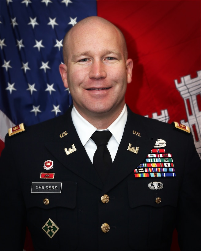 Maj. Richard Childers is the Deputy Commander, Tulsa District, U.S. Army Corps of Engineers.