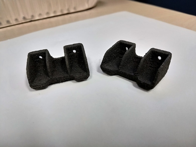 3-D printed polymer composite brackets