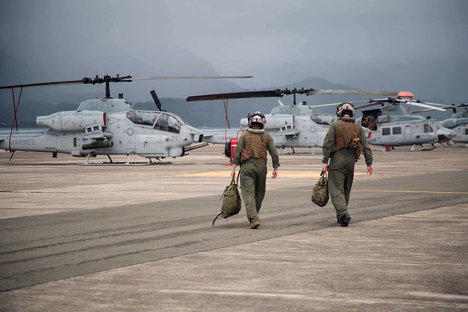 HMLA-367 bids farewell to AH-1W Super Cobra helicopters