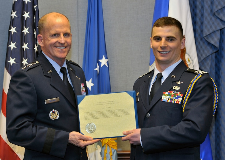 Best: MIT cadet selected as Air Force ROTC Cadet of the Year