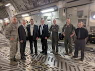 Air Force Operational Energy met with the 418th Flight Test Squadron at Edwards Air Force Base.