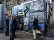 The Operational Energy team visited with NASA Ames Research Center to learn about their research developments.