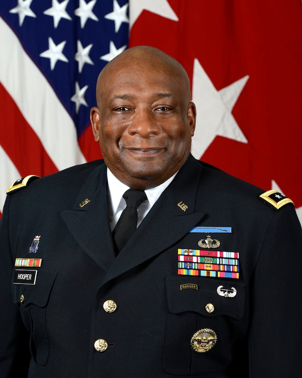 Army Lt. Gen. Charles W. Hooper, director of the Defense Security Cooperation Agency. Army photo by Monica King