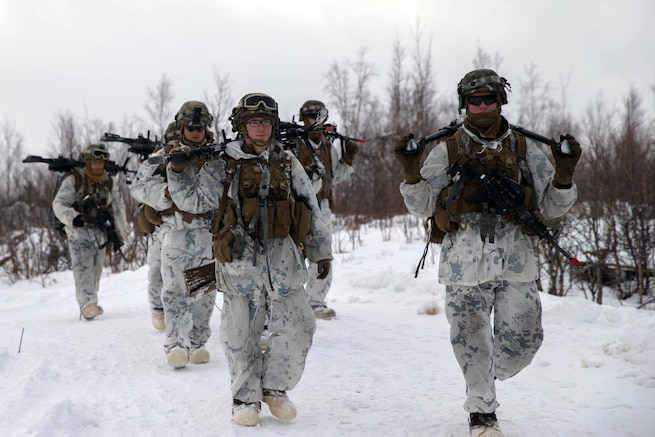 Special Operations Forces Exercise in Arctic Conditions