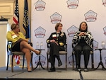 Women who have succeeded in information technology share views with women aspiring to IT careers