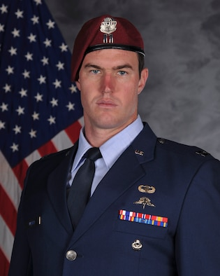 Captain Mark Weber, Combat Rescue Officer, 38th Rescue Squadron, Moody Air Force Base, Ga. (U.S. Air Force Photo by 23d Wing Public Affairs)