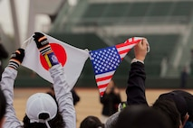 Americans, Japanese relay message of friendship