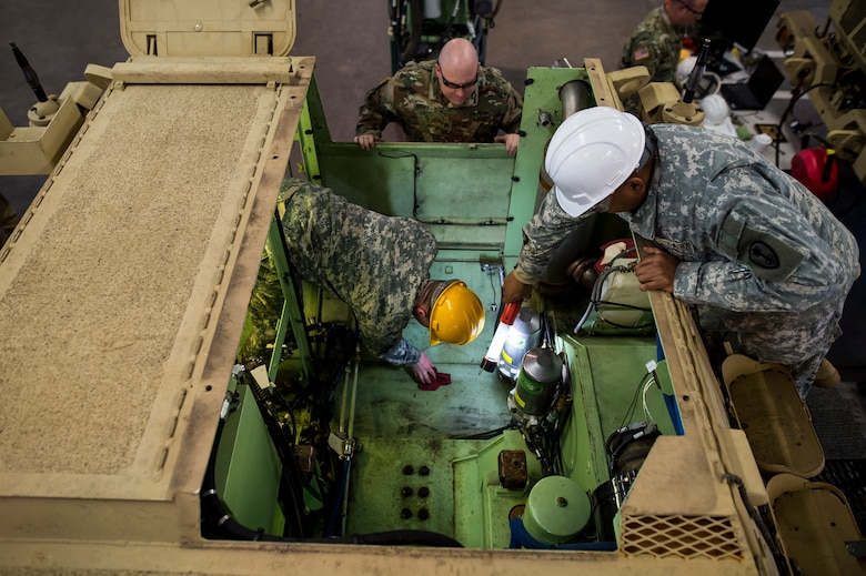 Armored Security Vehicle mechanic training