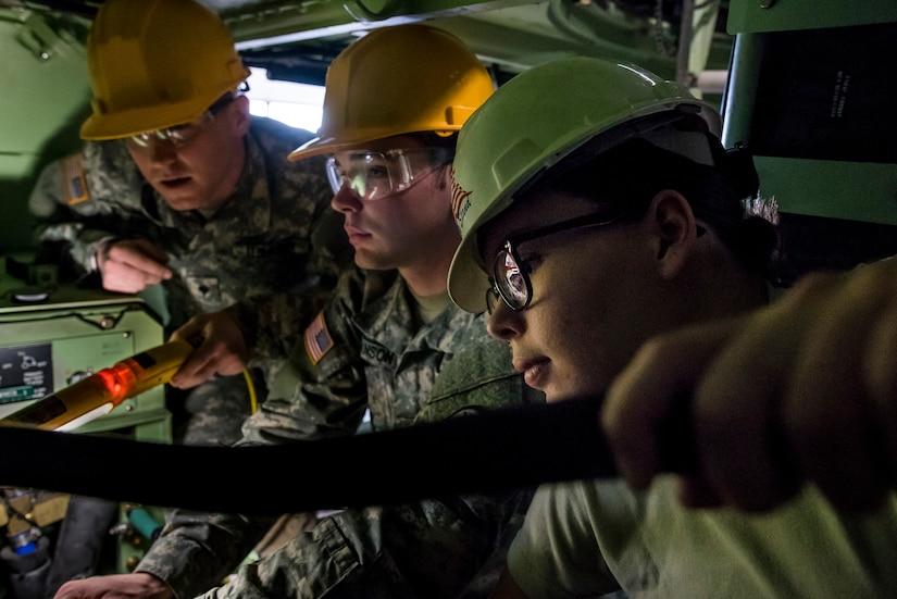 Armored Security Vehicle maintenance training