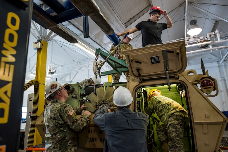 Armored Security Vehicle maintenance training