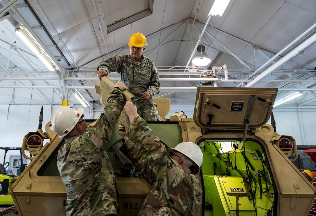 Armored Security Vehicle mechanic training