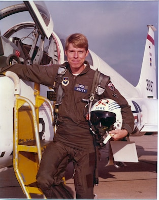 Jere Matty during his time in Undergraduate Pilot Training at Reese AFB