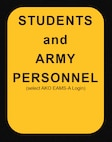 Students and Army Personnel login