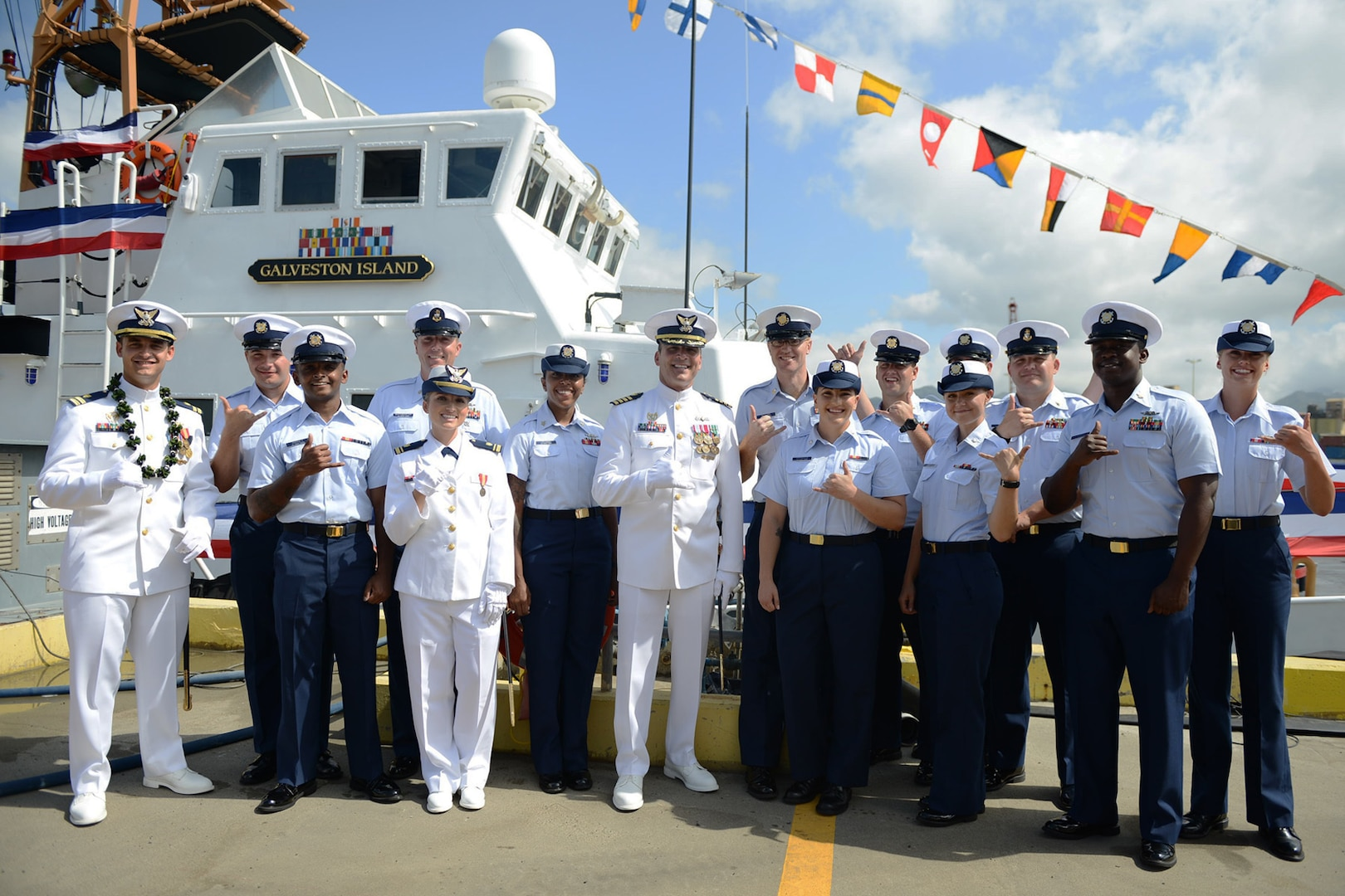 Coast Guard Cutter Galveston Island decommissioned after 26 years of service