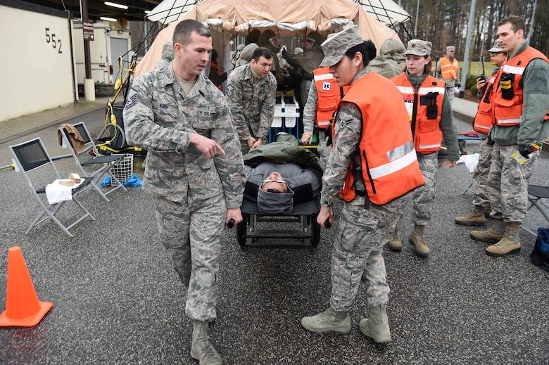 Spangdahlem Air Base participates in readiness exercise