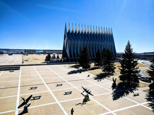 Air Force Operational Energy visited the U.S. Air Force Academy in Colorado Springs, Colo.