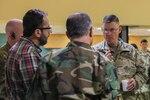 Calif. Guard members brief Afghan counterparts