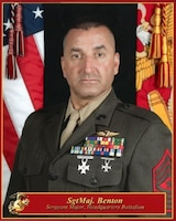 Sergeant Major, Marine Corps Support Facility New Orleans