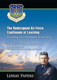 Book Cover - The Redesigned Air Force Continuum of Learning