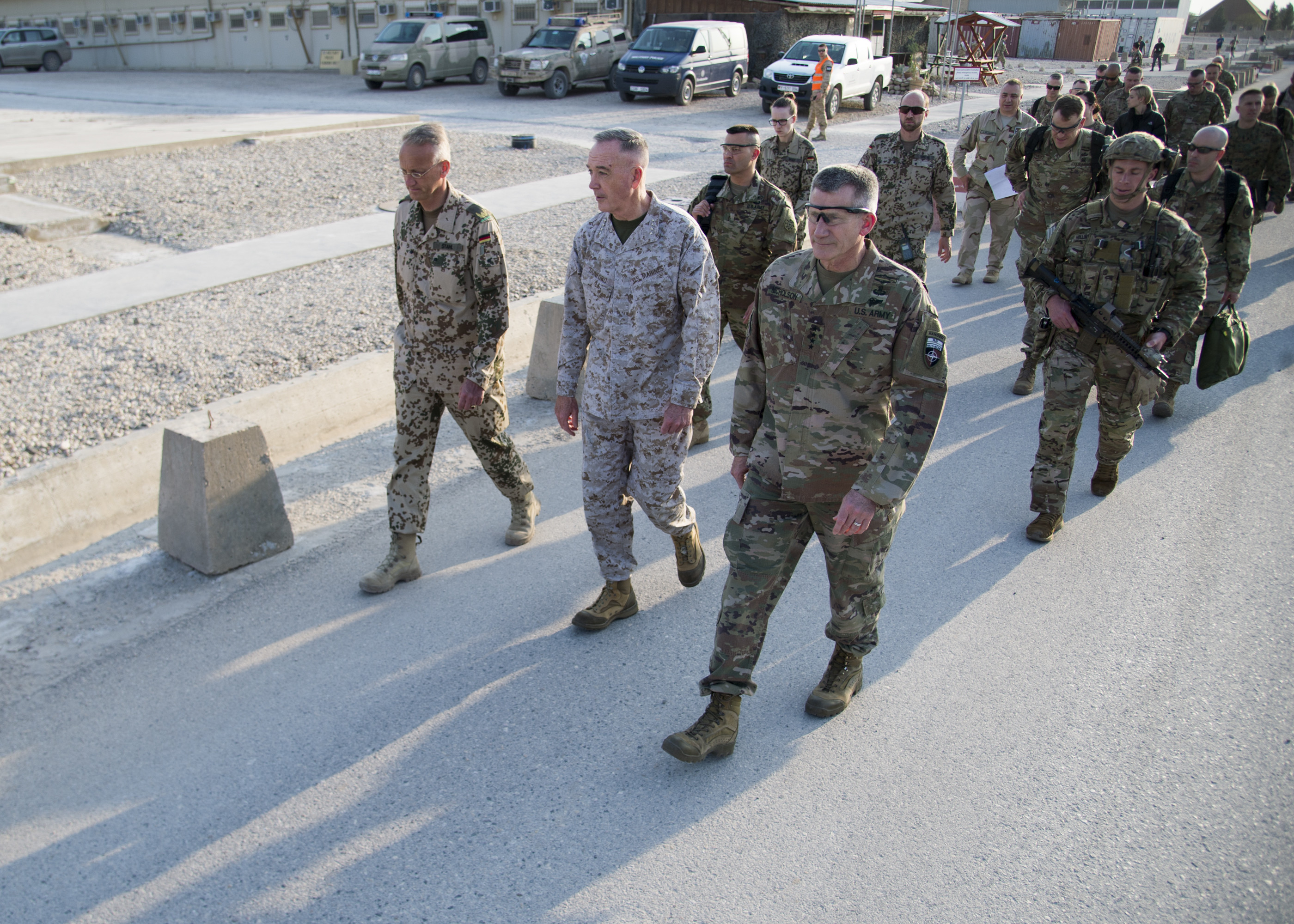 Dunford Arrives In Afghanistan To Assess Campaign Plan Joint
