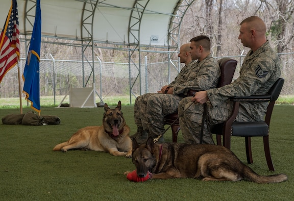 K-9 Heroes: 2nd SFS honors MWD