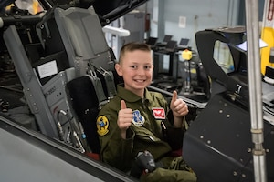 "Andrew ""Gunner"" Jolly is 138th Fighter Wing's Newest Pilot for a Day"