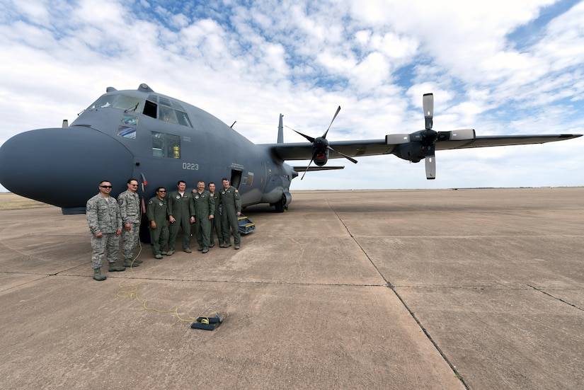 MC-130P Combat Shadow arrives at Sheppard
