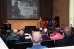Distribution commanding general hosts town hall for Distribution headquarters, recognizes employees